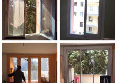 Avant après fenêtres